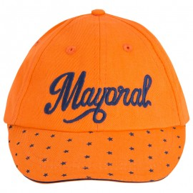 MAYORAL 10908 CZAPKA PAPAYA FLUOR