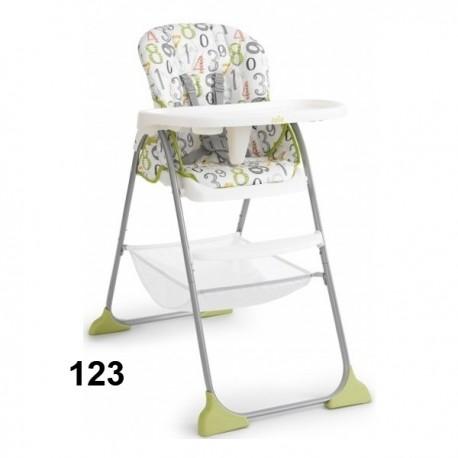 Krzesełko do karmienia Joie MIMZY Składane Jedną Ręką