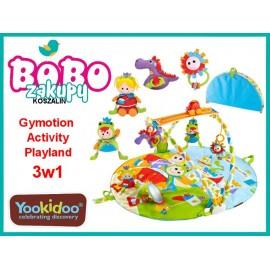 Yookidoo Mata Edukacyjna Gymotion Activity Playland Ruchoma