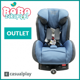 CASUALPLAY Q-RETRAKTOR BLUE STEEL 913 ISOFIX 9-18kg (OUTLET)