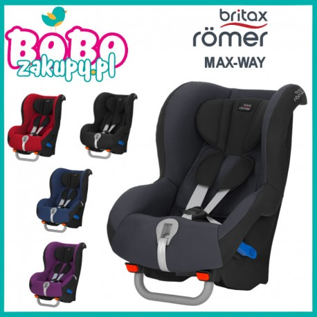 Fotelik samochodowy Britax-Romer Max-Way 9-25 kg