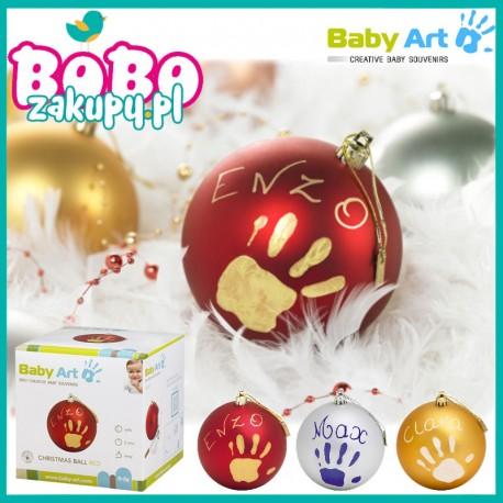 Baby Art CHRISTMAS BALL - Bombka z odciskiem rączki!