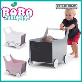 Childhome Drewniany Pchacz na zabawki Wózek