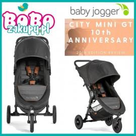 Baby Jogger City Mini GT Anniversary + pałąk+ folia+ wkładka memory