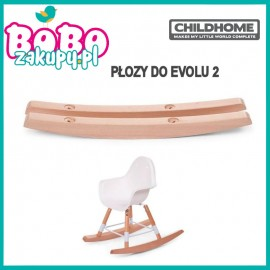 Childhome Płozy Natural do krzesełka Evolu 2