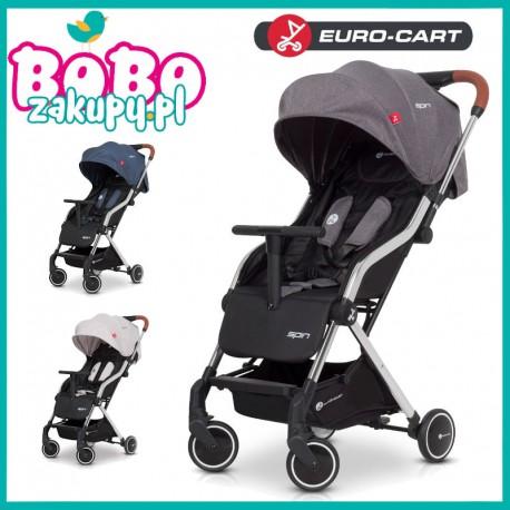 Euro-Cart SPIN Wózek spacerowy + Folia + Okrycie