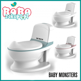 BABY MONSTERS RHINO MY FIRST WC NOCNIK