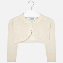 MAYORAL 320 Sweterek rozpinany Piasek