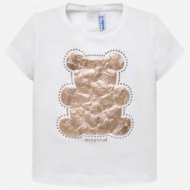 MAYORAL 105 Koszulka z krótkim rękawem Biały