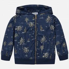 MAYORAL 3424 Bluza z nadrukiem dla chłopca Niebiesko-stalowy