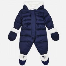 MAYORAL 2618 Kombinezon pikowany dla niemowlaka Granat