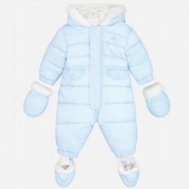 MAYORAL 2618 Kombinezon pikowany dla niemowlaka Błękit