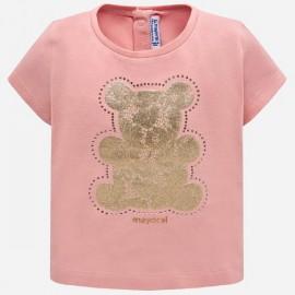 MAYORAL 105 Koszulka z krótkim rękawem Różowy