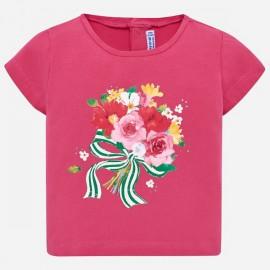 MAYORAL 1014 Koszulka z krótkim rękawem Fuksja