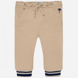 MAYORAL 1528.094 Spodnie joggery Kremowy