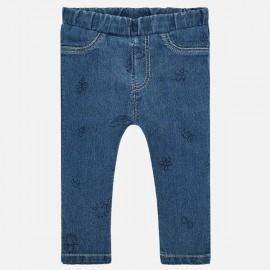 MAYORAL 1519.026 Długie spodnie we wzory Jeans