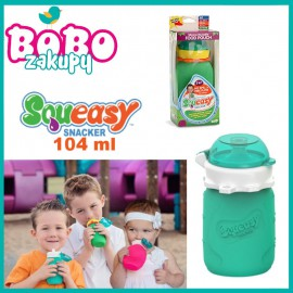Squeasy Gear miękka silikonowa butelka 104 ml na pokarm