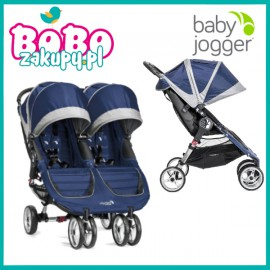 BABY JOGGER CITI MINI DOUBLE COBALT/GREY