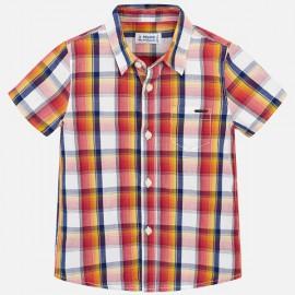 MAYORAL 3134.039 Koszula w kratę z krótkim rękawem