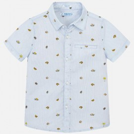 MAYORAL 3131.064 Koszula we wzory z krótkim rękawem