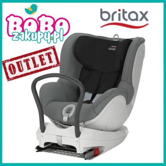 Britax Römer Dualfix Steel Grey fotelik samochodowy 0-18 kg