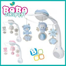 B-kids karuzela z projektorem i lampką 3w1 Infantino