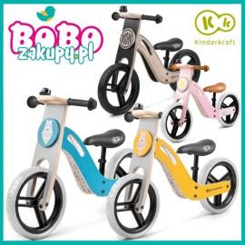 Drewniany rowerek biegowy Kinderkraft UNIQ