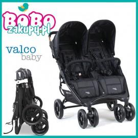 Wózek Valco Baby SNAP DUO COAL BLACK 9,8kg +pałąk NOWA KOLEKCJA