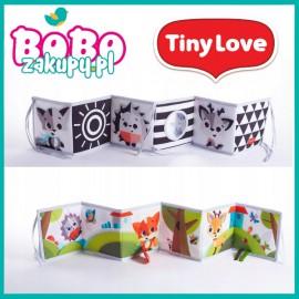 Tiny Love Zabawa na łące, dwustronna książeczka interaktywna