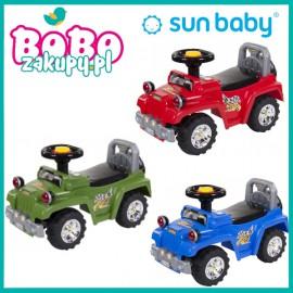 SUN BABY Jeździk Jeep ze światłami