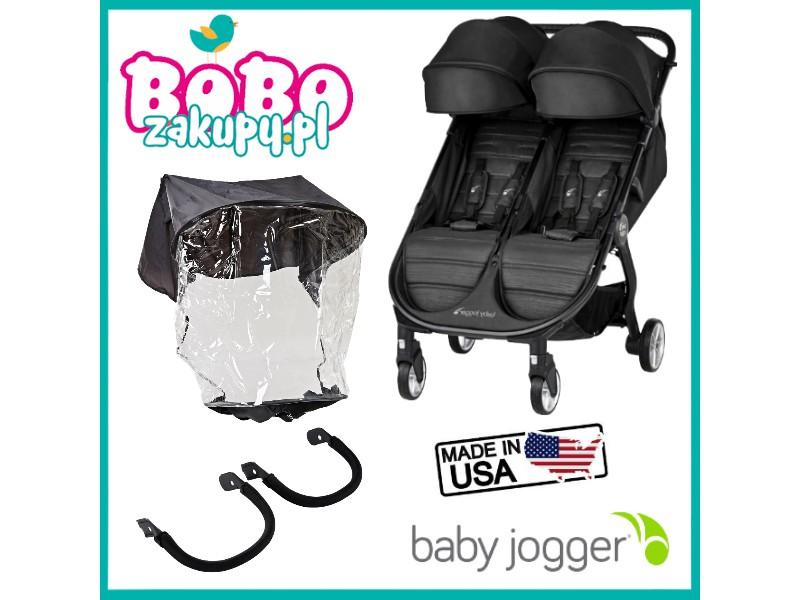 Baby Jogger City Tour 2 Double + 2 x pałąk + folia NOWOŚĆ ...