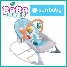 Sun baby Leżaczek leśni przyjaciele