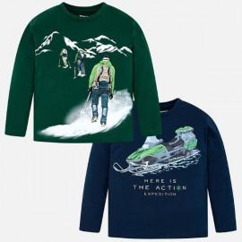 Mayoral 4021.089 Komplet 2 koszulek dla chłopca
