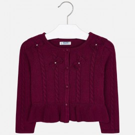 Mayoral 4306.024 Sweterek w kokardki dla dziewczynki