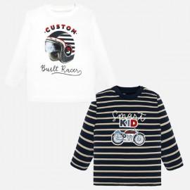 Mayoral 2018.047 Zestaw koszulek z długim rękawem