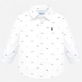 Mayoral 2115.041 Koszula z długim rękawem we wzory