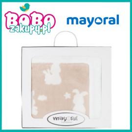 Mayoral 9028.070 Miękki kocyk we wzory