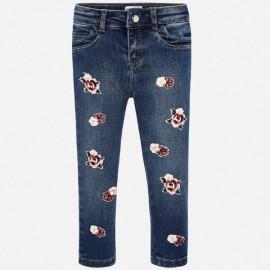 Mayoral 4505.072 Długie spodnie dżinsowe dla dziewczynki