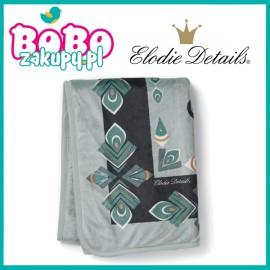 Elodie Details Kocyk Pearl Velvet Everest Feathers