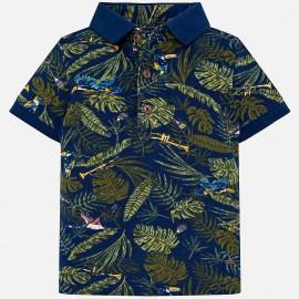 MAYORAL 1119.081 Koszulka Polo Niebieski