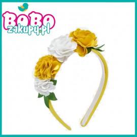 MAYORAL 10544.085 Opaska kwiatki żółta