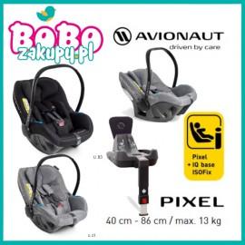 Fotelik samochodowy AVIONAUT PIXEL Isofix  0-13KG + Baza
