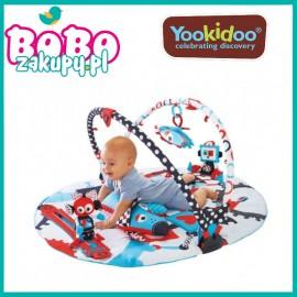 Yookidoo Mata Edukacyjna Gymotion Robo Playland