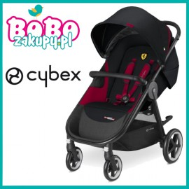 CYBEX AGIS M AIR 4 Victory black FERRARI Wózek spacerowy