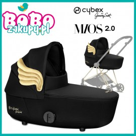Cybex Gondola Mios 2.0 Lux By Jeremy Scott Wings Black