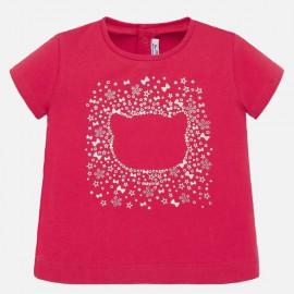 Mayoral 105.092 Koszulka z krótkim rękawem dla dziewczynki