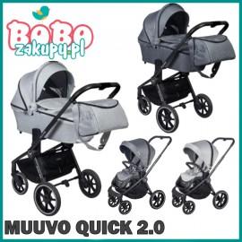 Muuvo Quick 2.0 - wózek wielofunkcyjny  2w1
