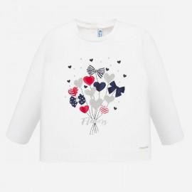 Mayoral 1068.086 Koszulka z nadrukiem dla dziewczynki