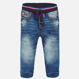 Mayoral 1551.085 Spodnie jeans jogger dla chłopca