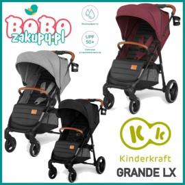 Wózek spacerowy Kinderkraft Grande LX Nowość 2020